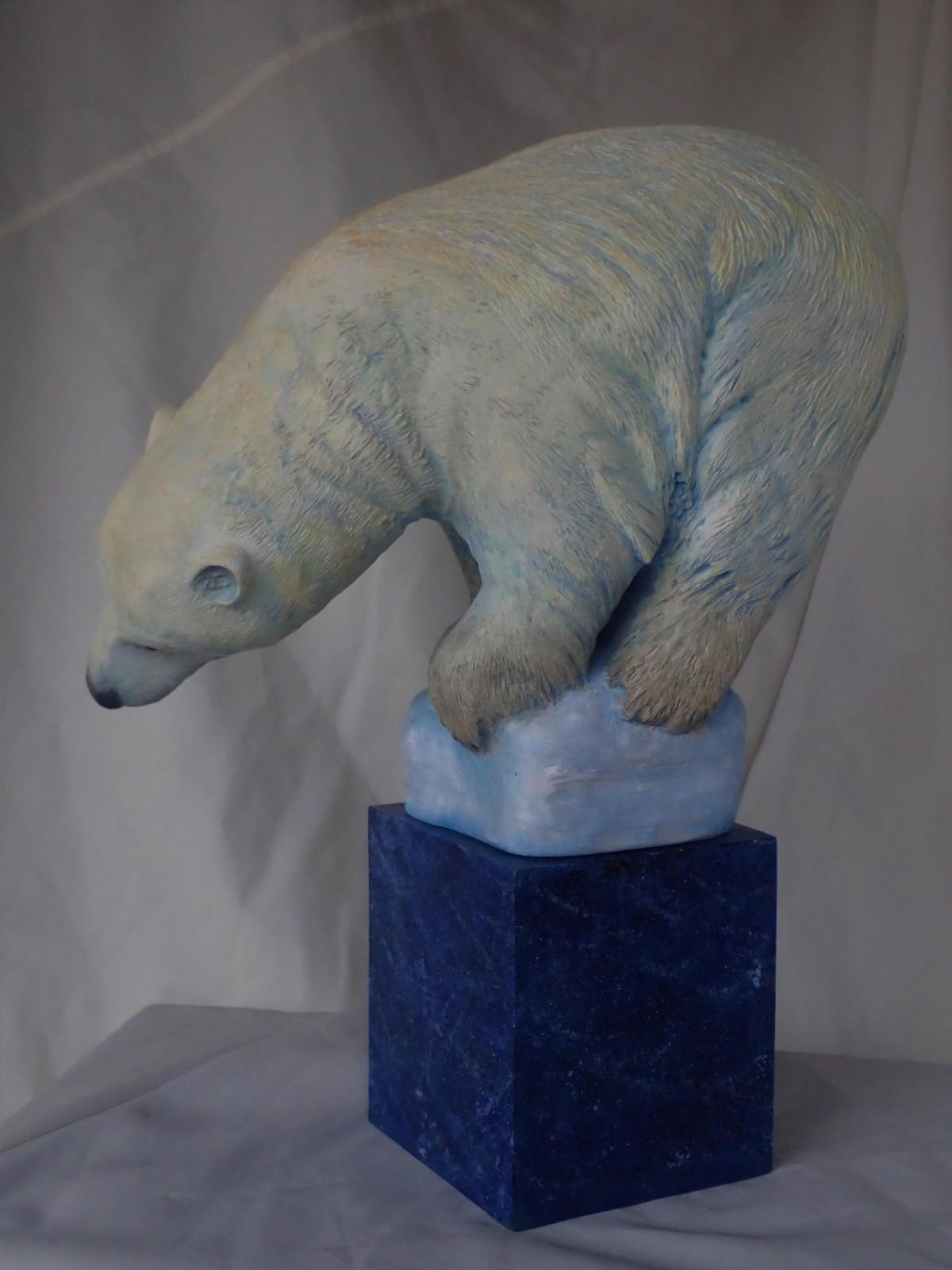 Nowhere To Go | Sculpture by Betsy Popp | Artists for Conservation 2019
