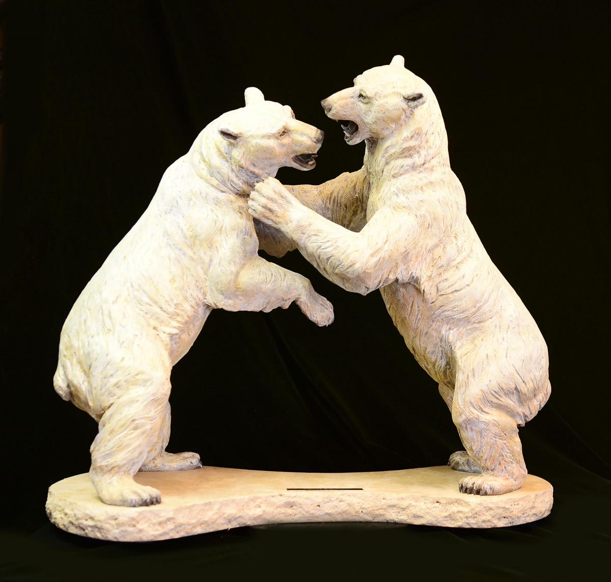 Sealing the Deal | Sculpture by Christine Knapp | Artists for Conservation 2020