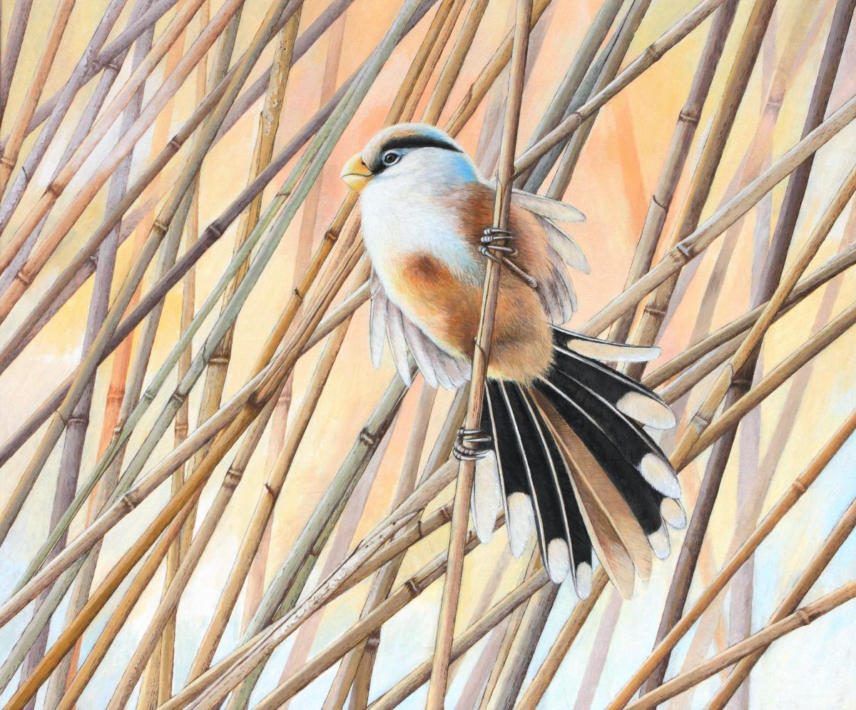 Elves in reed | Wallhanging by Leo Xiang | Artists for Conservation 2020