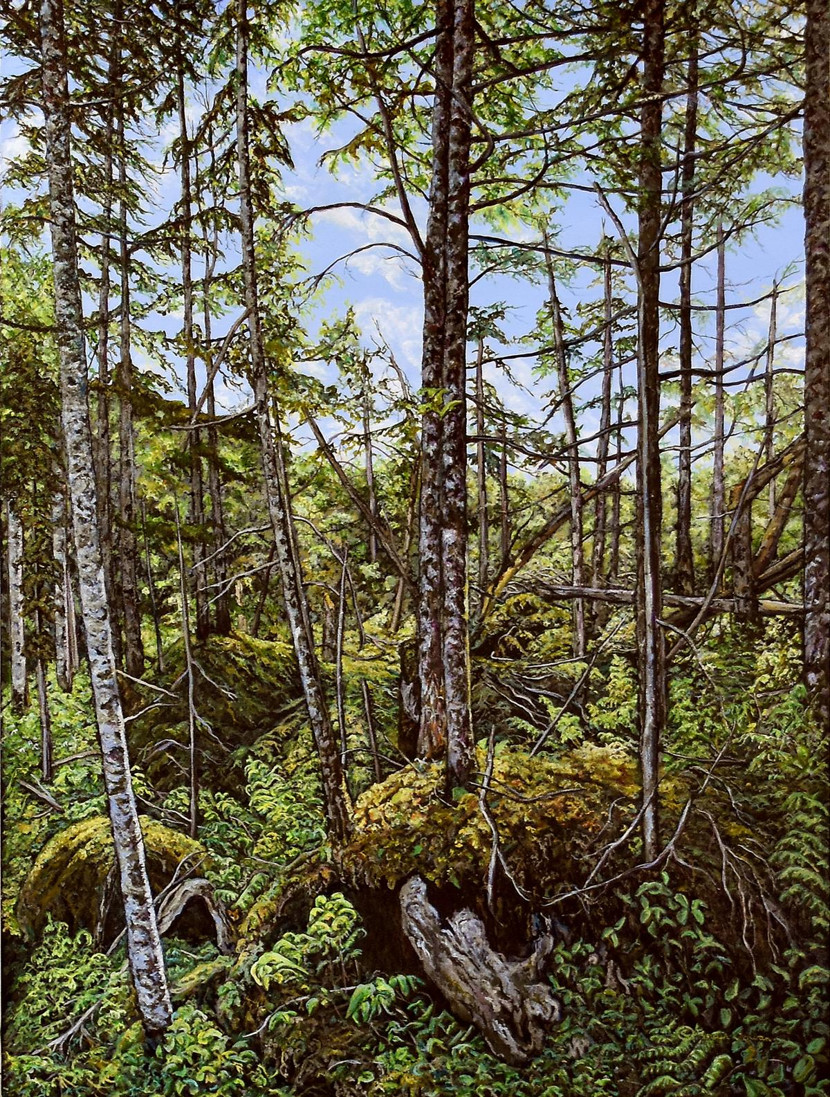 Tobermory | Wallhanging by Lynden Cowan | Artists for Conservation 2020