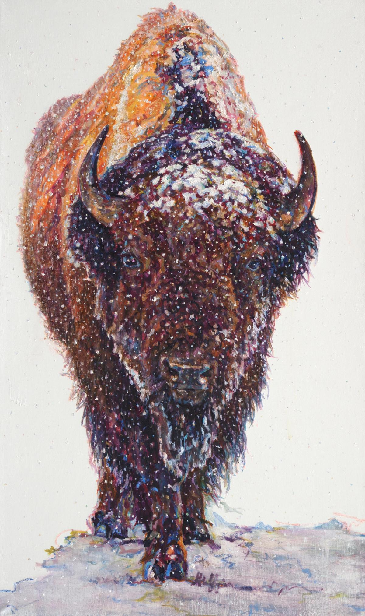 Boreas   Wallhanging by Patricia Griffin   Artists for Conservation 2020