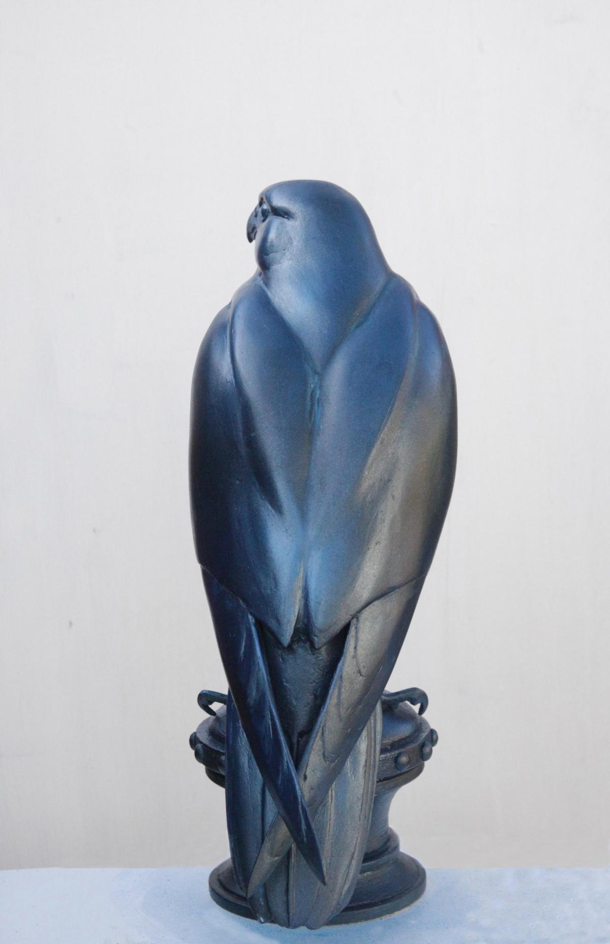 Peregrine Falcon | Sculpture by Martin Hayward-Harris | Artists for Conservation 2020