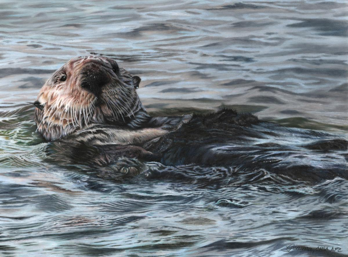 Treasures of the Elkhorn Slough | Wallhanging by Gemma Gylling | Artists for Conservation 2021