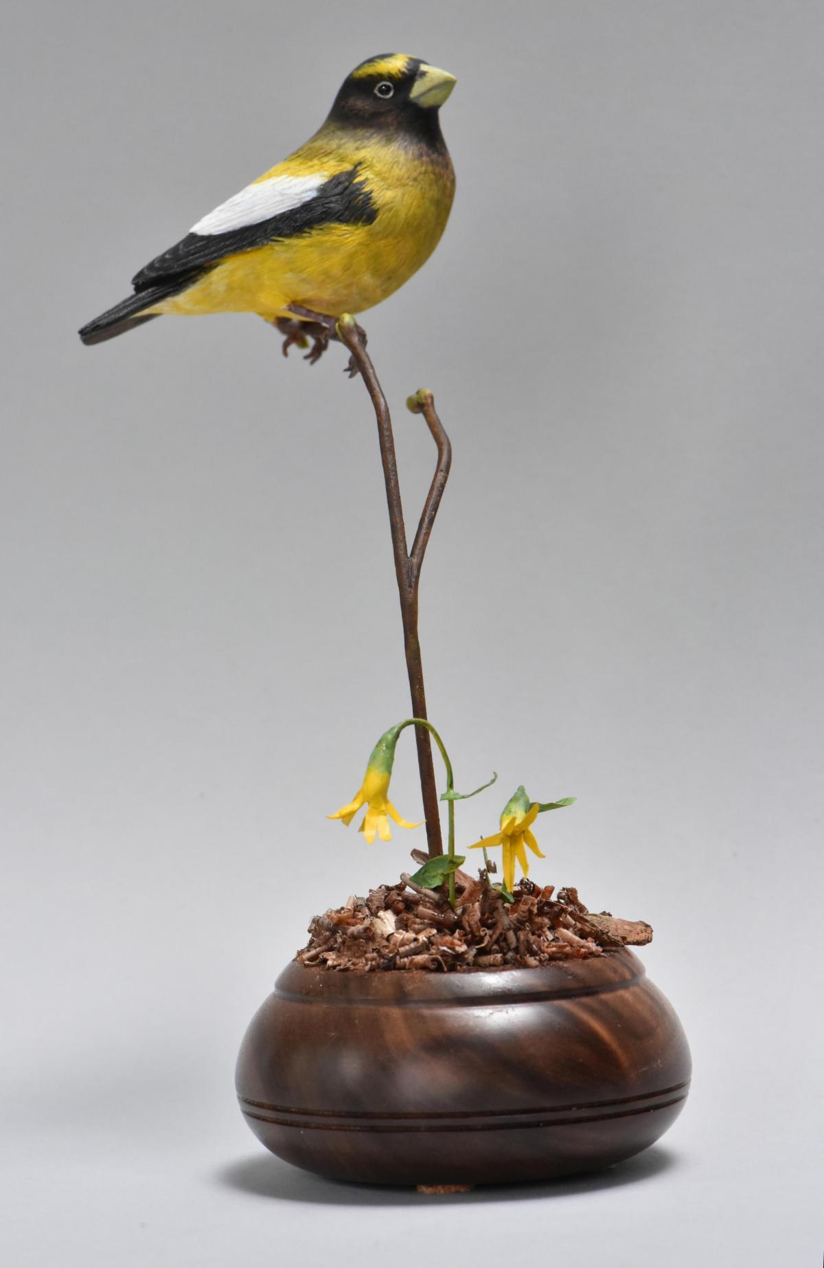 Joy   Sculpture by Uta Strelive   Artists for Conservation 2021