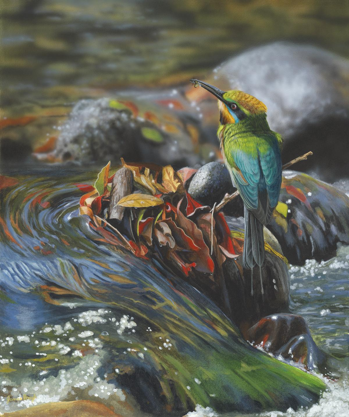 Rivers Reward | Wallhanging by James Hough | Artists for Conservation 2021