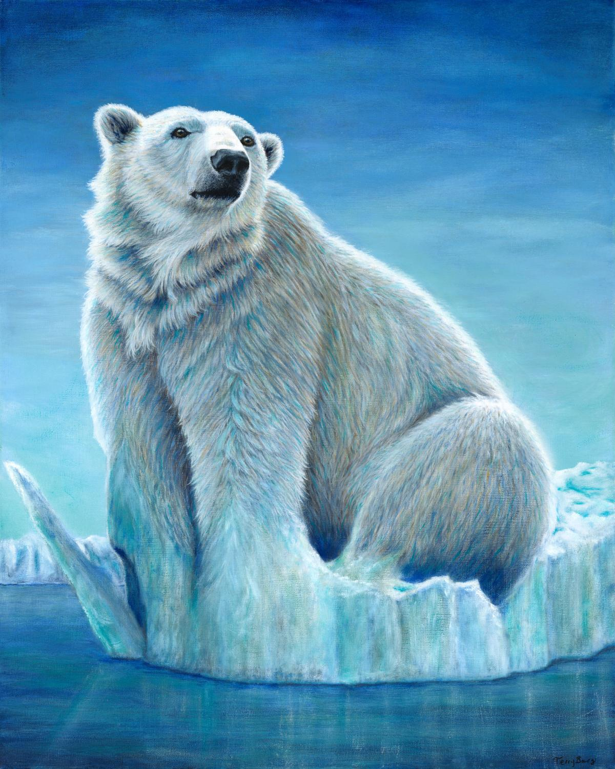 Polar Melt | Wallhanging by Terry Berg | Artists for Conservation 2021