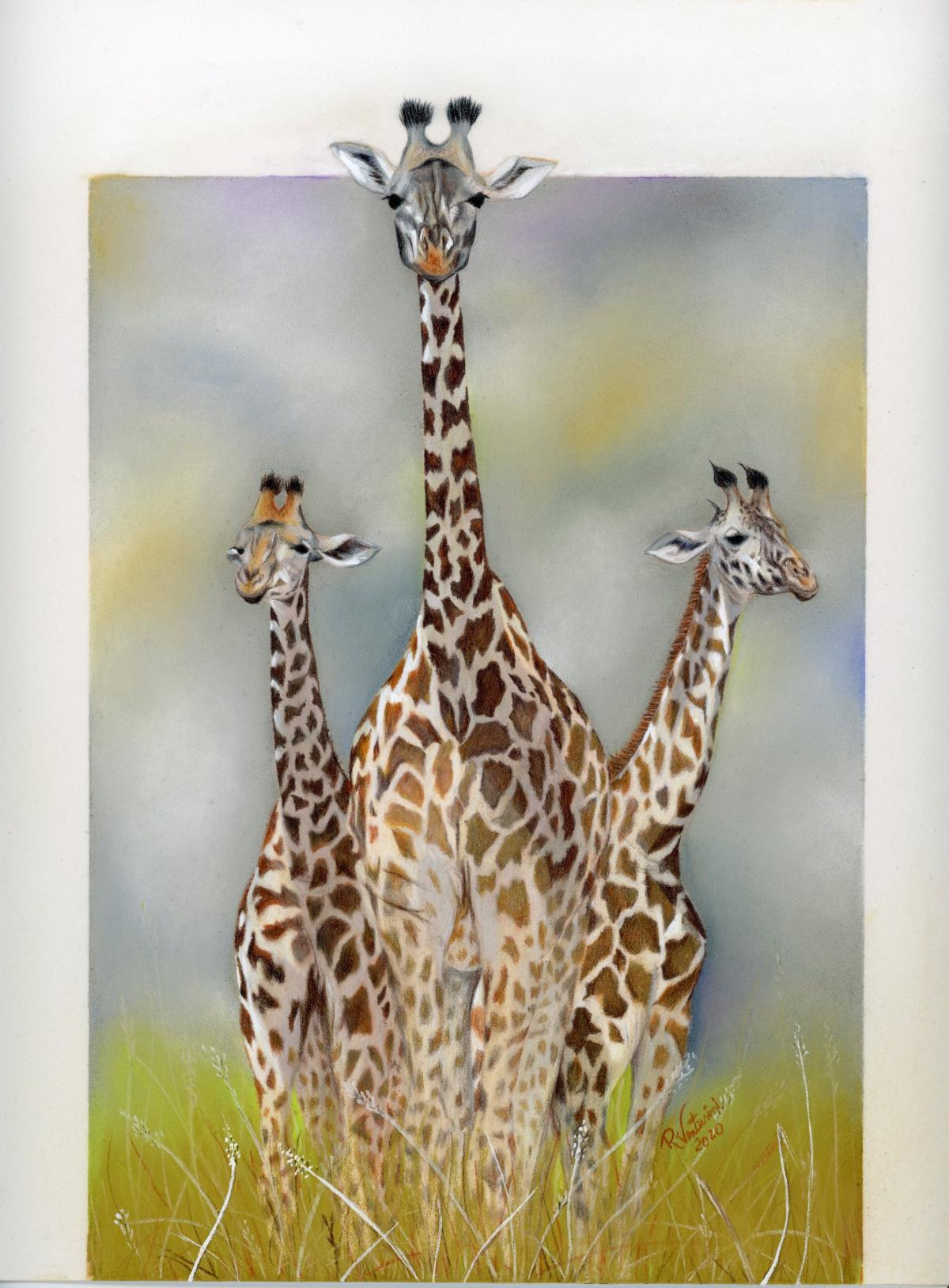 Hello Who is there?   Wallhanging by Rosana Venturini   Artists for Conservation 2021