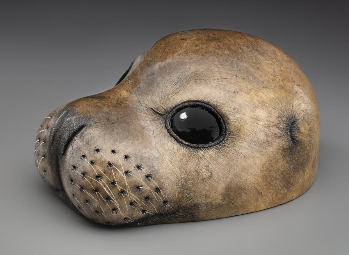 Mediterranean Monk Seal   Sculpture by Craig Benson   Artists for Conservation 2021