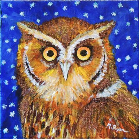 Flores Scops-owl, Flores Scops Owl by AFC