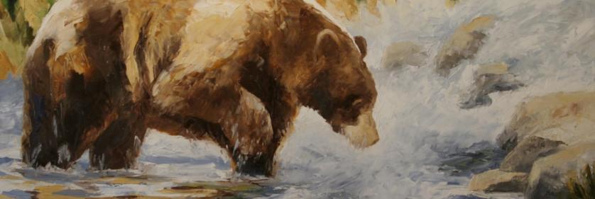 <em>Edit Conservation Project/Cause</em> Fishing - 50% of the sales commission for &quot;Fishing&quot; will be donated to Lake Tahoe Wildlife Care and 25% of sales commission for &quot;Fishing&quot; will be donated to the Artists for Conservation organization   Debbie Griest
