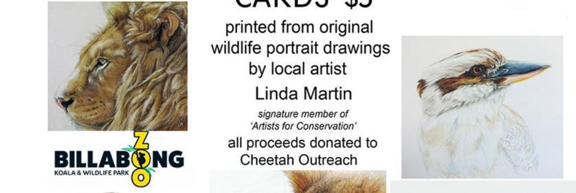 <em>Edit Conservation Project/Cause</em> In support of wildlife -    Linda Martin