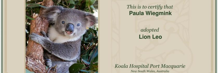 Create Conservation Project/Cause -    Paula Wiegmink