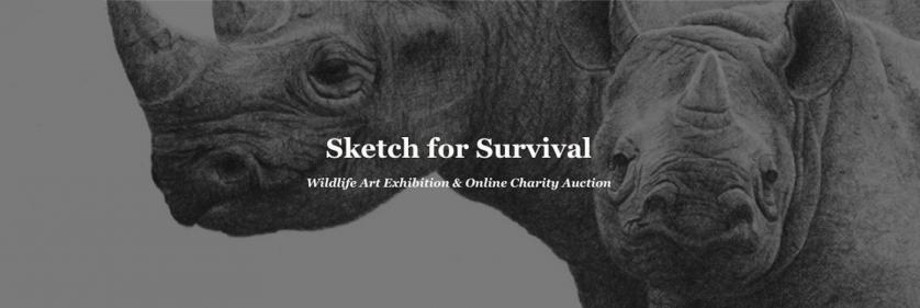 <em>Edit Conservation Project/Cause</em> Sketch for Survival 2018 - In Collaboration with Explorers Against Extinction | Geraldine Simmons