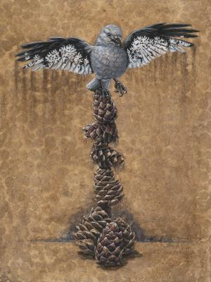 A Delicate Balance | Wallhanging by Rachel Ivanyi | Artists for Conservation 2020