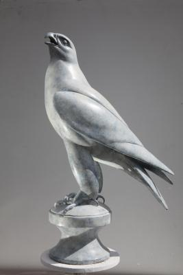 GYRFALCON | Sculpture by Martin Hayward-Harris | Artists for Conservation 2021