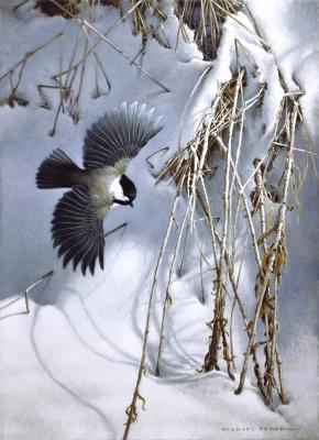 Winter Drift | Wallhanging by Michael Dumas | Artists for Conservation 2021
