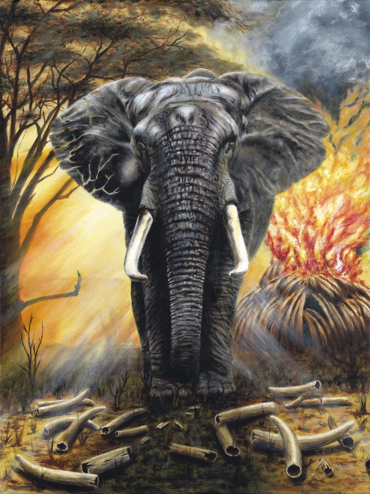 Edit Artwork | Wallhanging by Terry Berg | Artists for Conservation