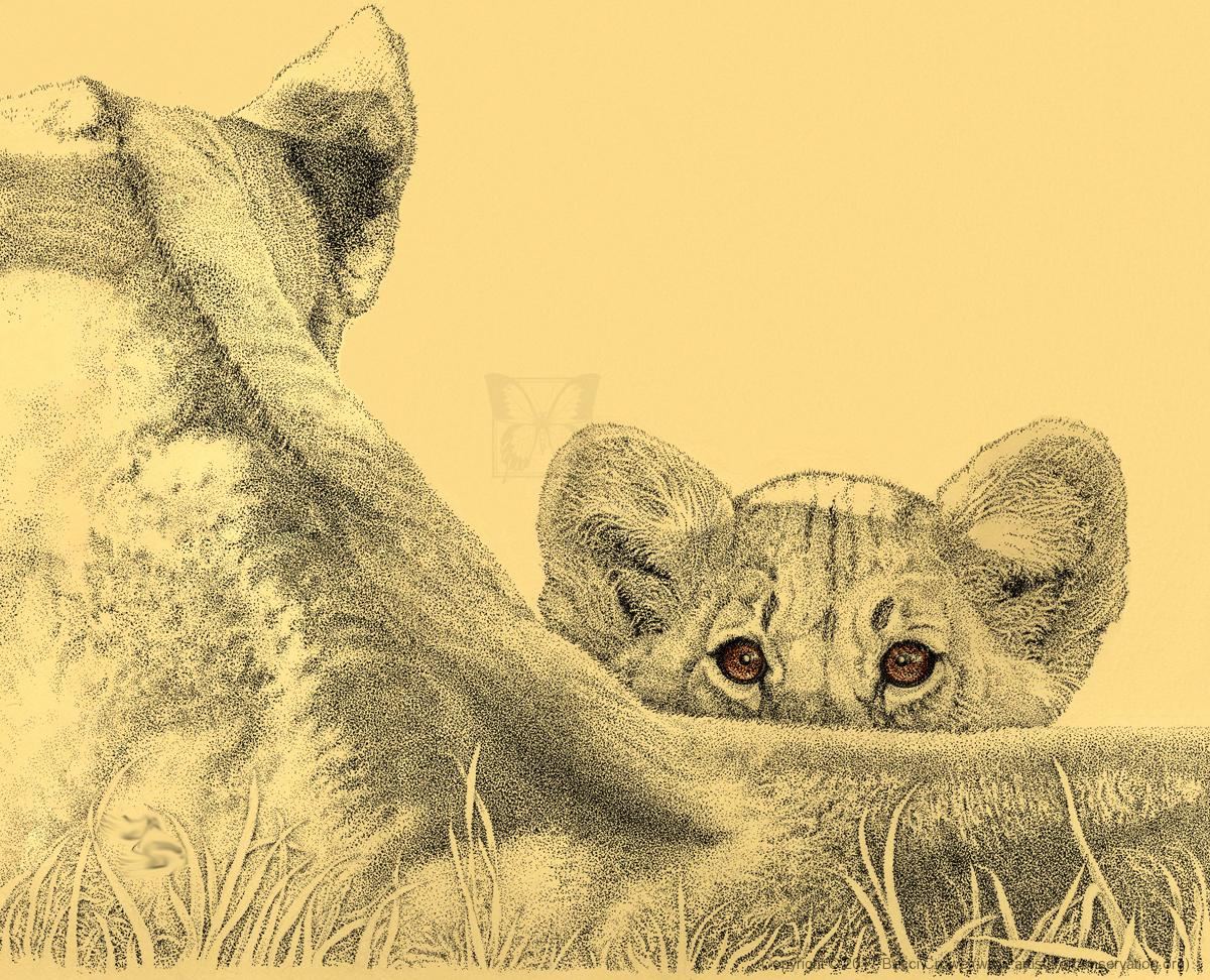   Wallhanging by Becci Crowe   Artists for Conservation