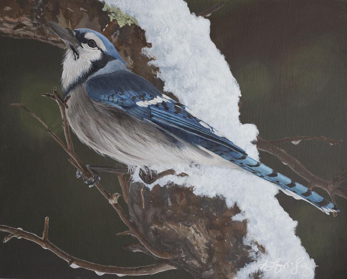Add Artwork   Wallhanging by Shawna Lampi-Legaree   Artists for Conservation