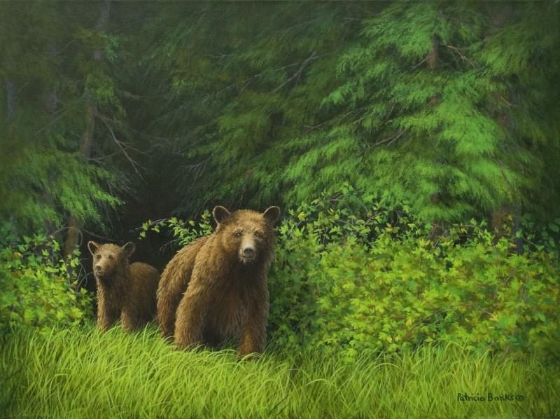   Wallhanging by Patricia Banks   Artists for Conservation