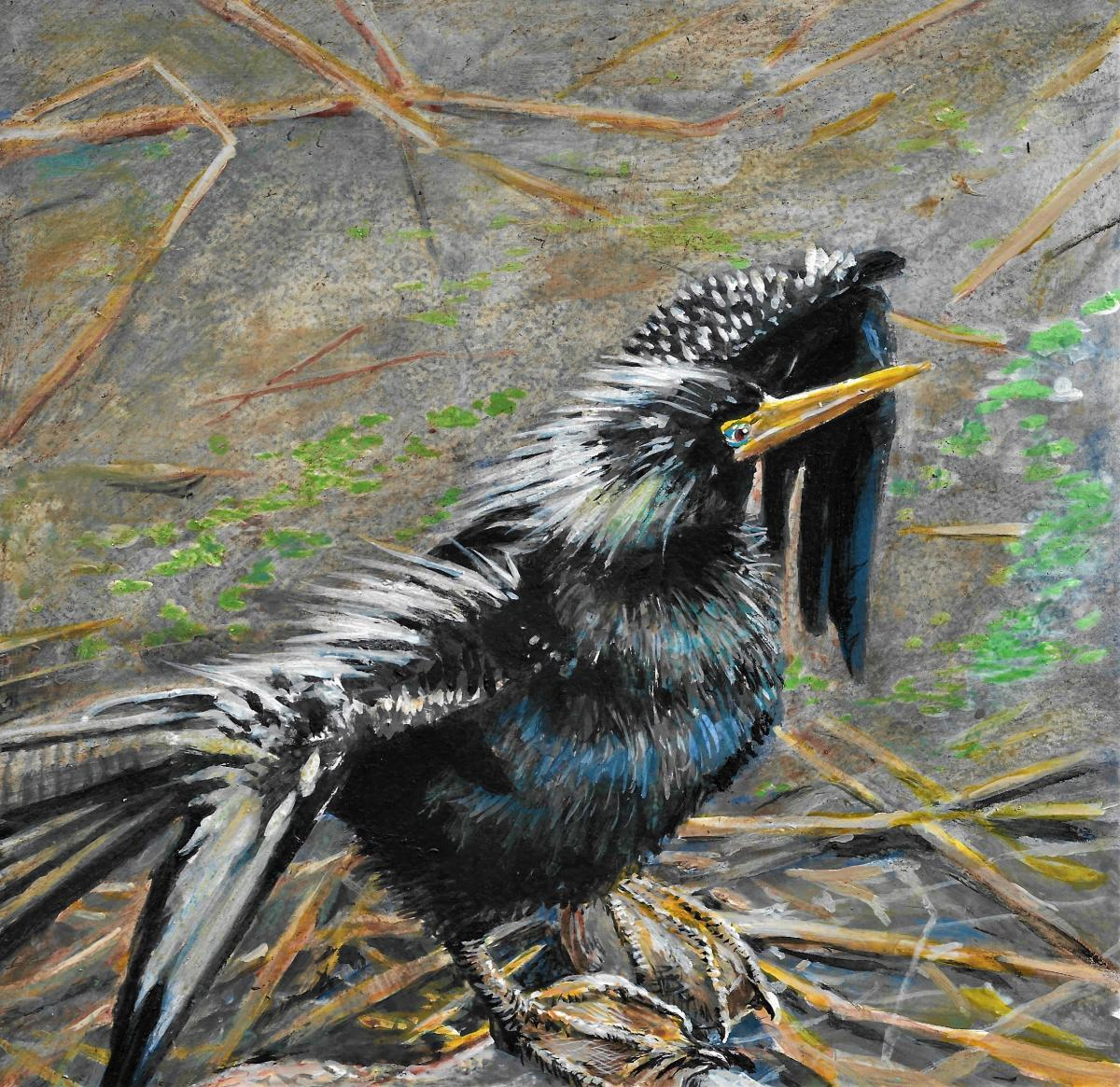 Add Artwork | Wallhanging by Wayne Chunat | Artists for Conservation