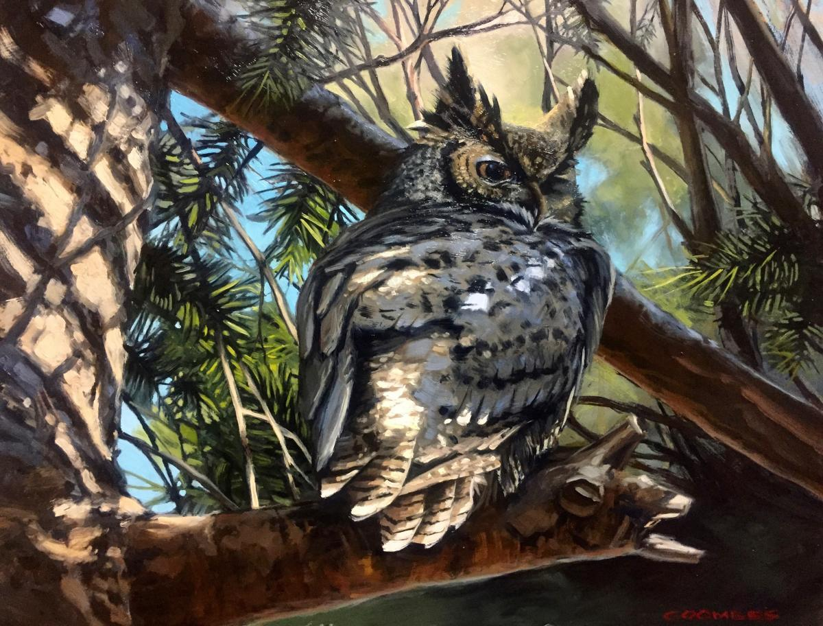 Add Artwork | Wallhanging by Bryan Coombes | Artists for Conservation