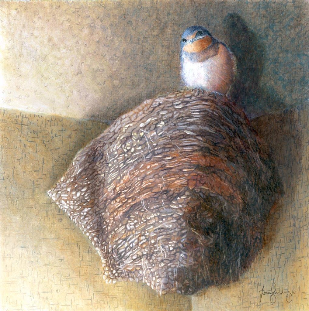 Add Artwork   Wallhanging by Fiona Goulding   Artists for Conservation