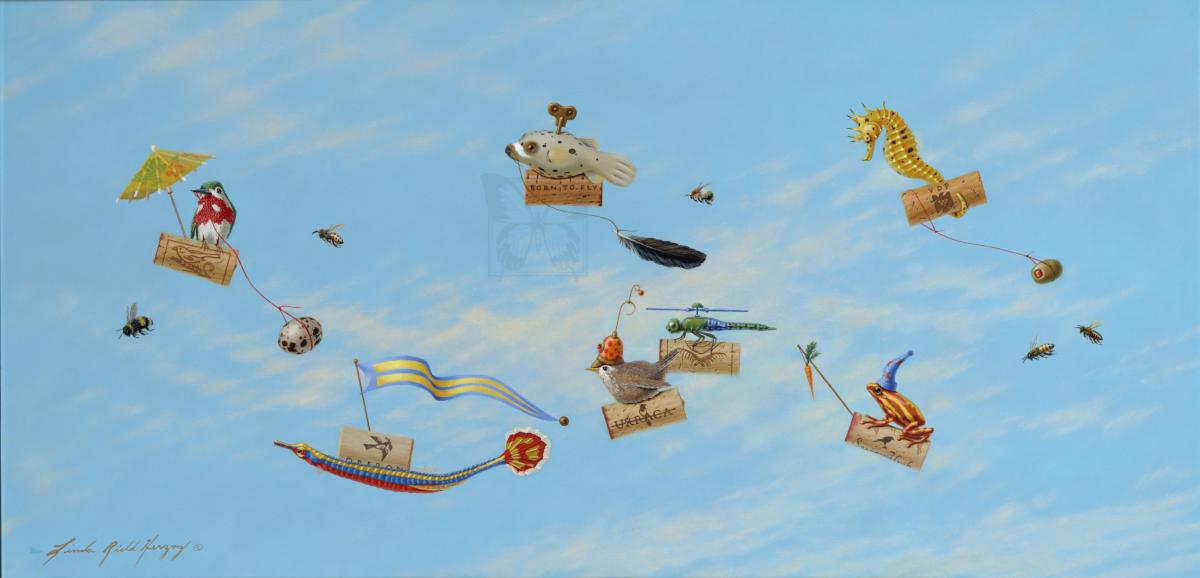 Edit Artwork | Wallhanging by Linda Herzog | Artists for Conservation