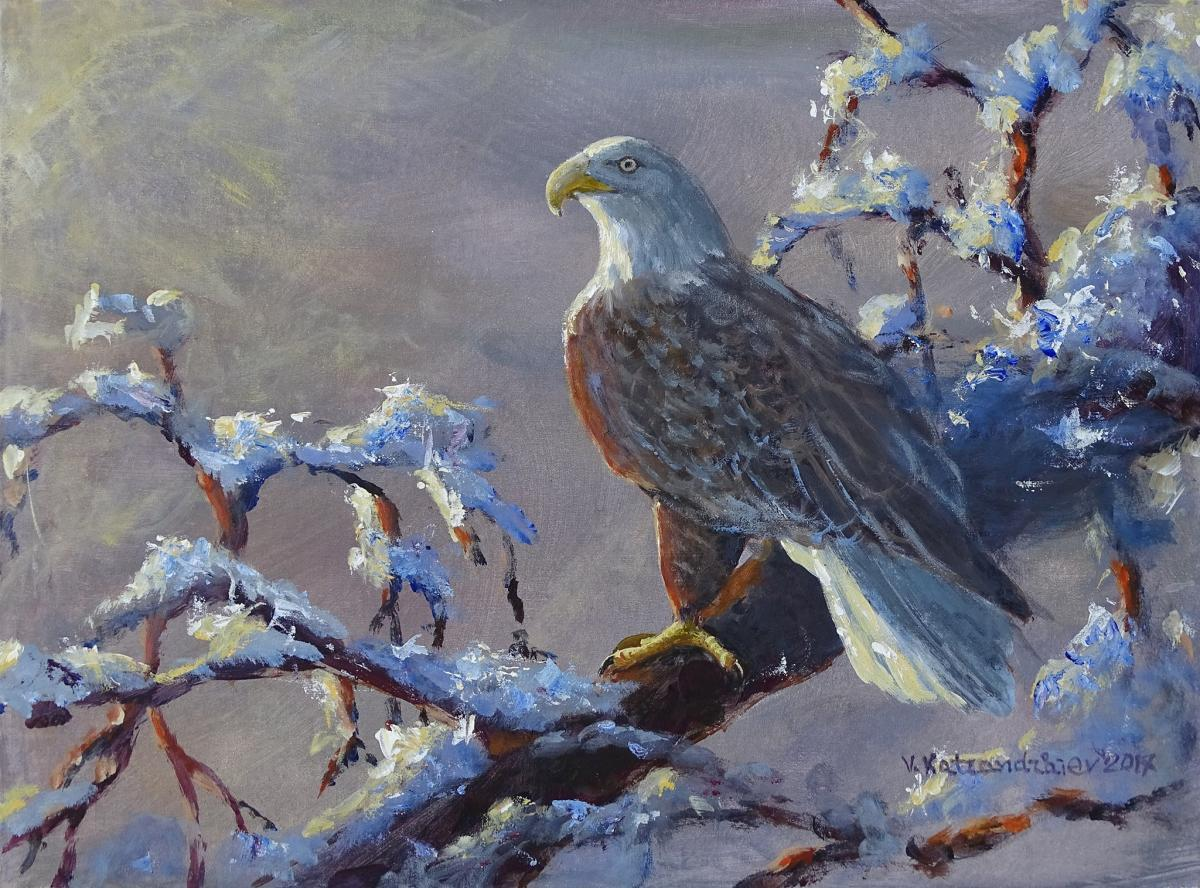   Wallhanging by Valentin Katrandzhiev   Artists for Conservation
