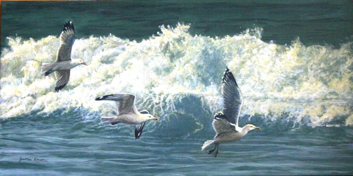 Add Artwork   Wallhanging by James Kiesow   Artists for Conservation