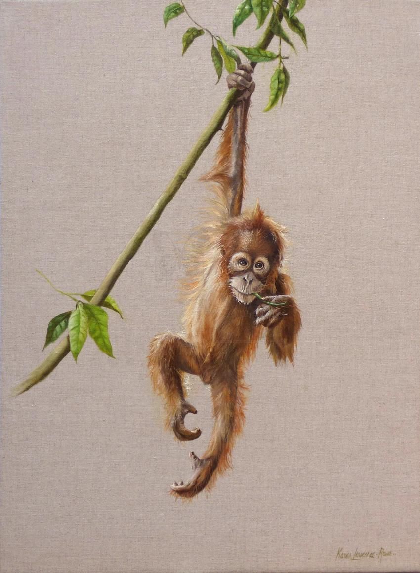   Wallhanging by Karen Laurence-Rowe   Artists for Conservation