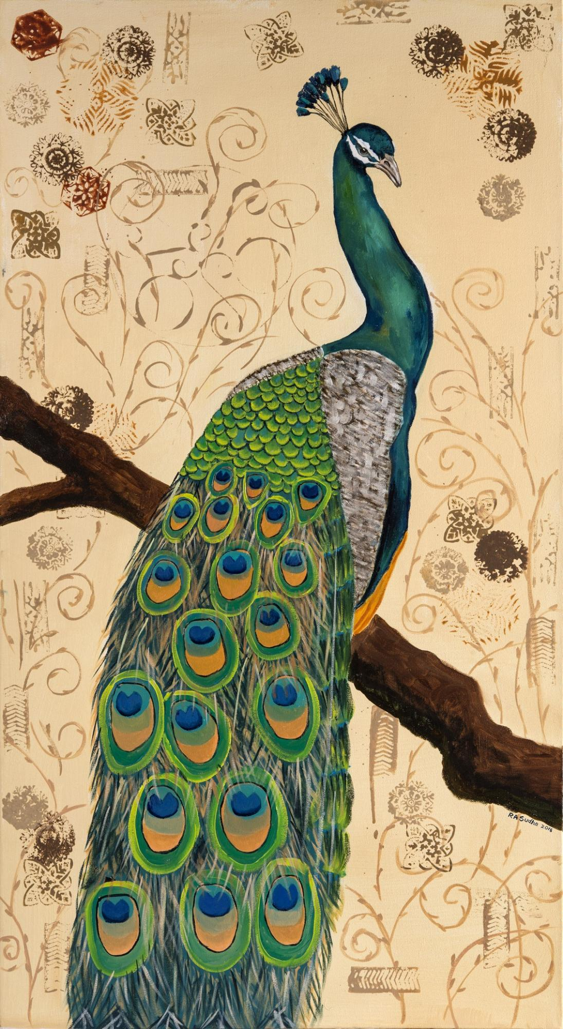 Edit Artwork   Wallhanging by Sudha Anandampillai   Artists for Conservation
