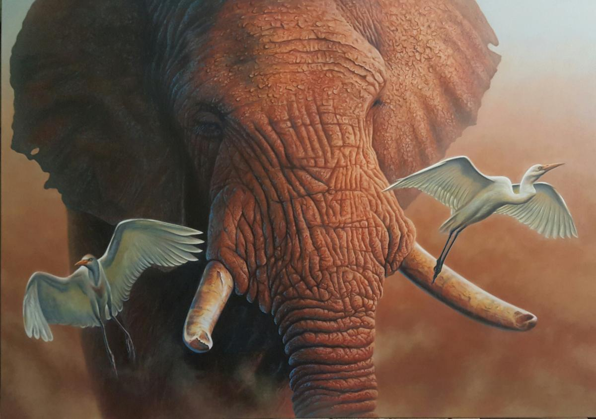 | Wallhanging by Jerry Ragg | Artists for Conservation
