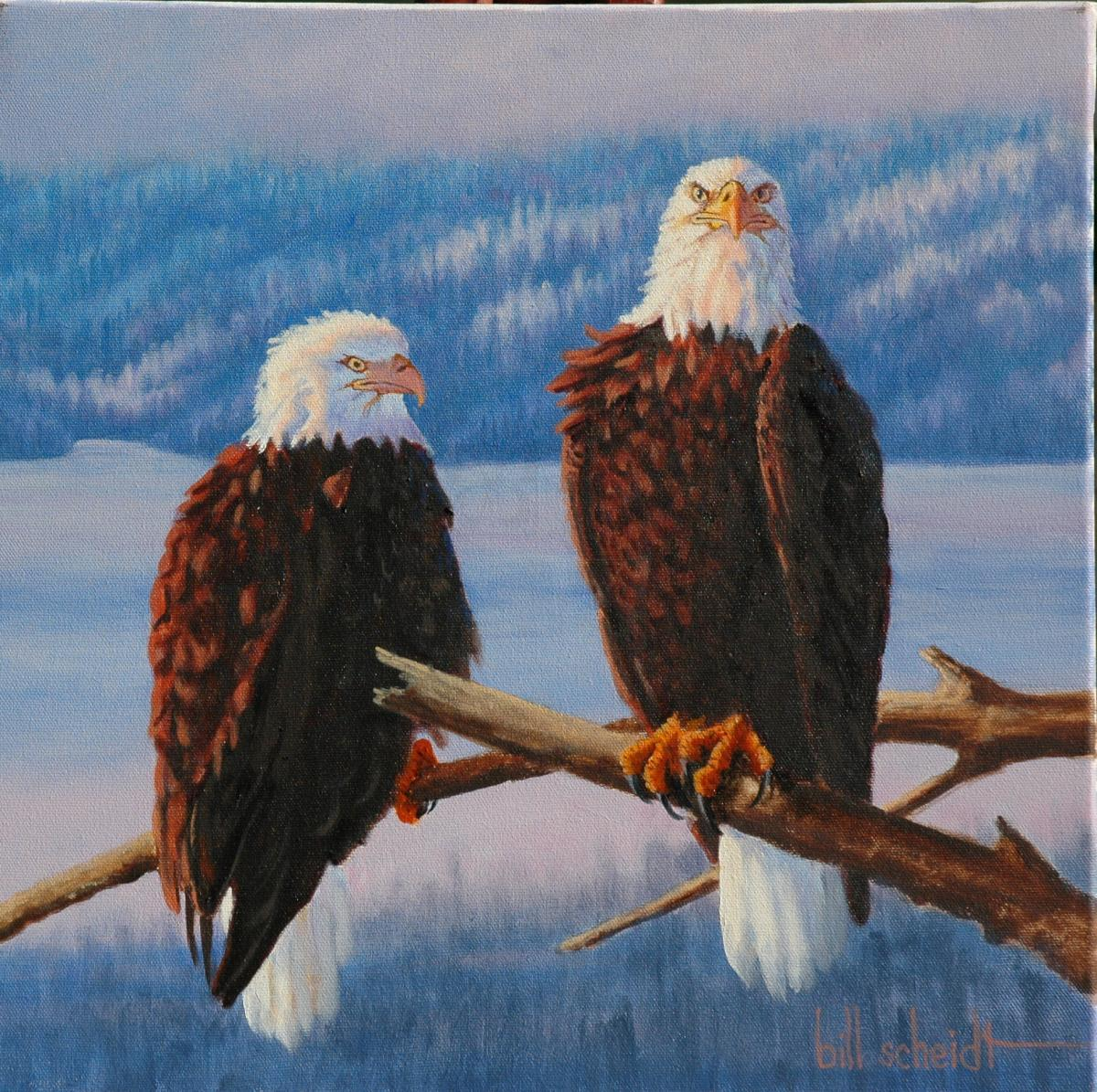 | Wallhanging by Bill Scheidt | Artists for Conservation