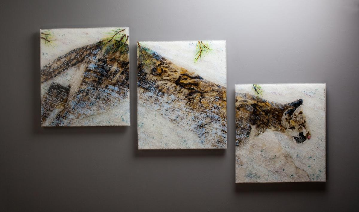   Wallhanging by Kathleen Sheard   Artists for Conservation