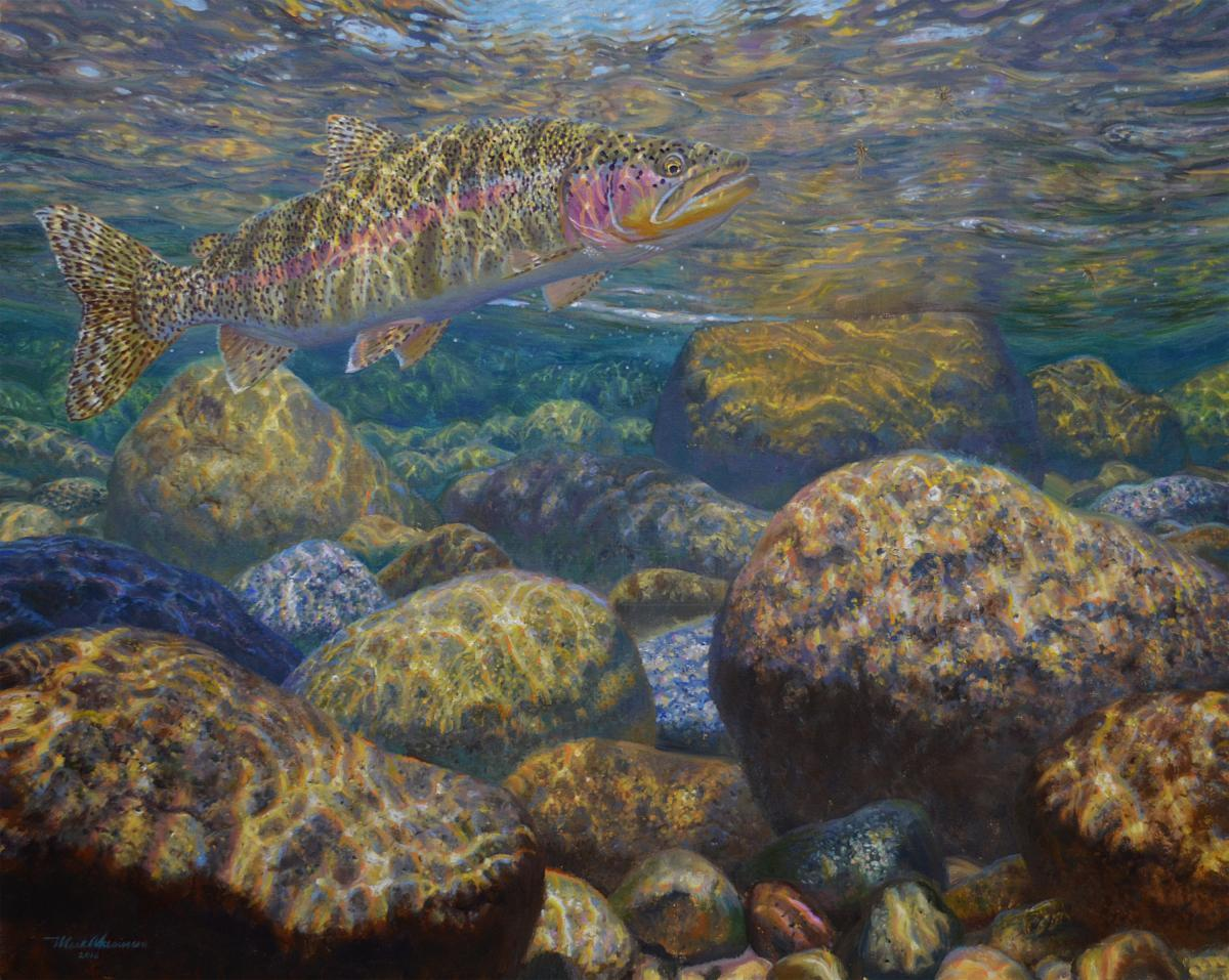Edit Artwork | Wallhanging by Mark Susinno | Artists for Conservation