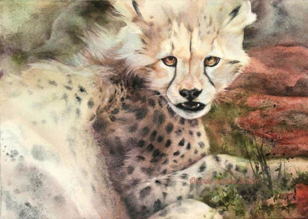   Wallhanging by Linda Sutton   Artists for Conservation