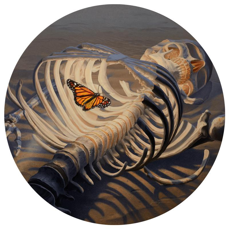   Wallhanging by Josh Tiessen   Artists for Conservation