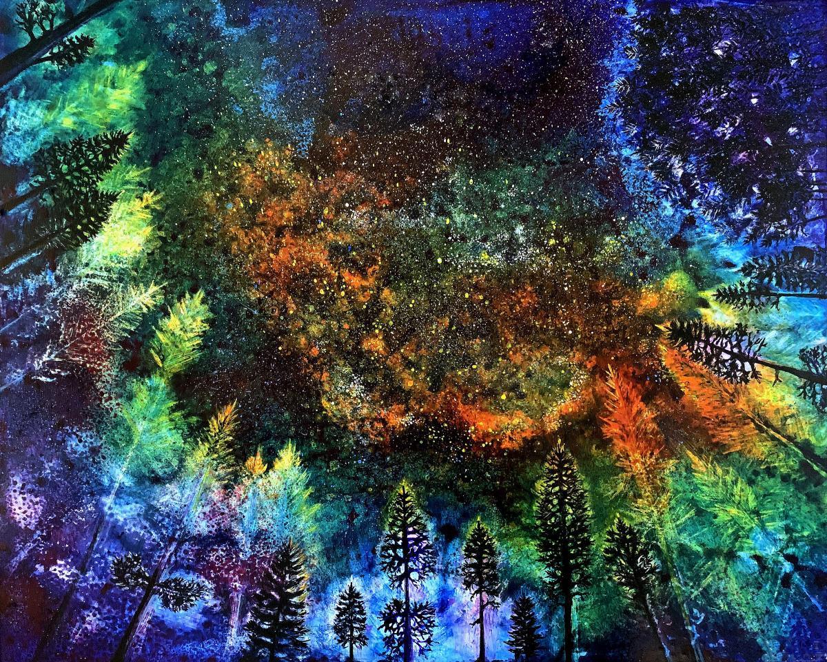 Edit Artwork   Wallhanging by Pamela Haunschild   Artists for Conservation
