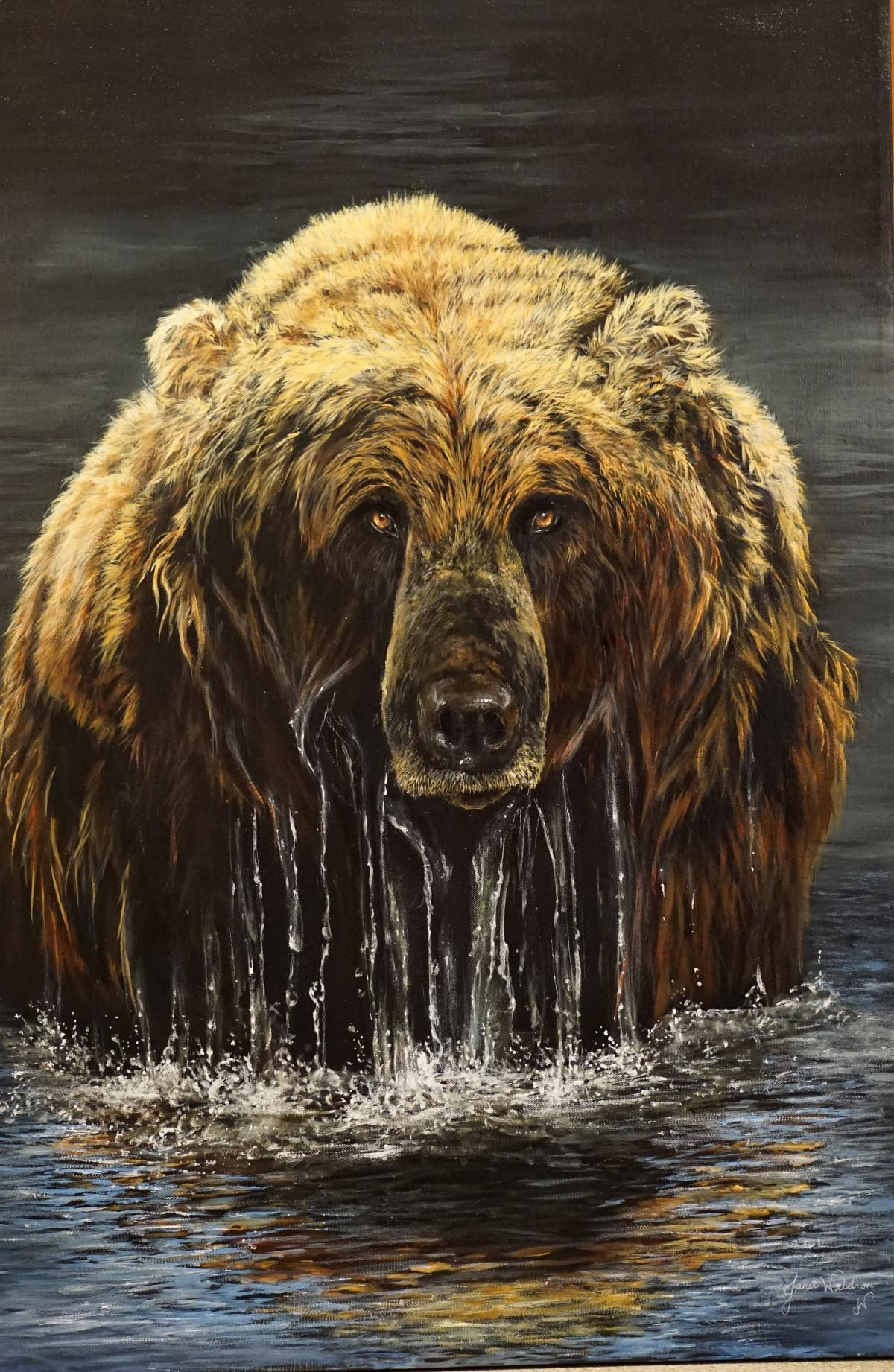 Edit Artwork   Wallhanging by Janet Hanofee   Artists for Conservation