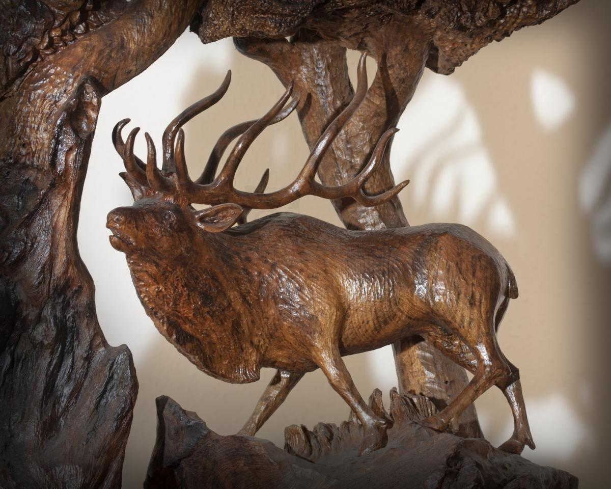 Edit Artwork   Sculpture by Terry Woodall   Artists for Conservation