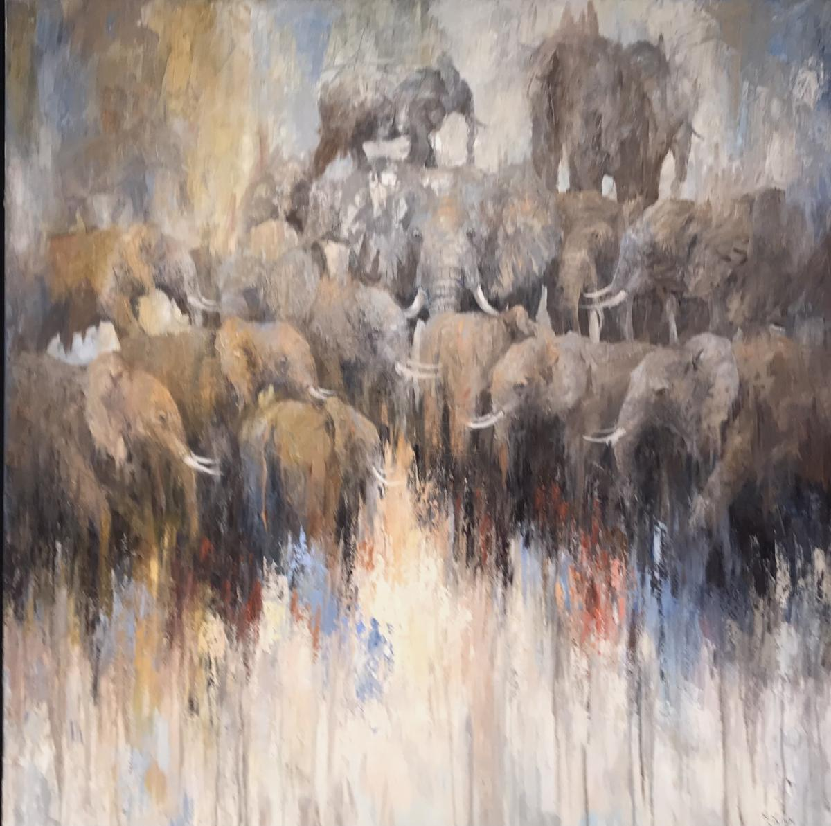 | Wallhanging by Ken Wallin | Artists for Conservation