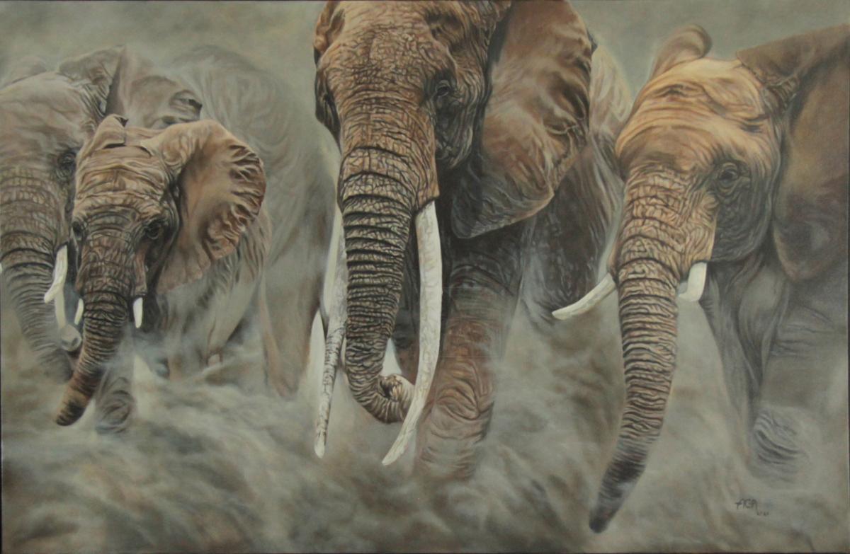 Edit Artwork   Wallhanging by Aga.Elliott   Artists for Conservation