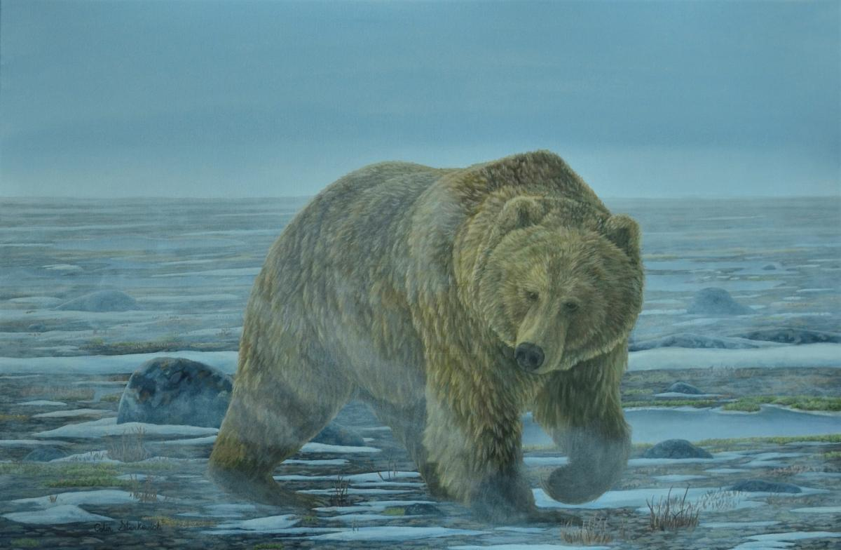   Wallhanging by Colin Starkevich   Artists for Conservation