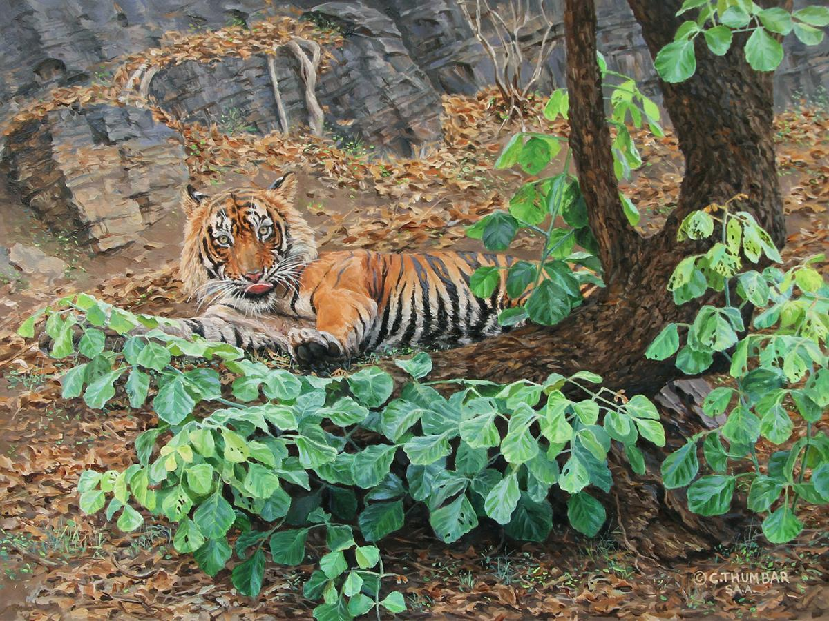   Wallhanging by Chirag Thumbar   Artists for Conservation