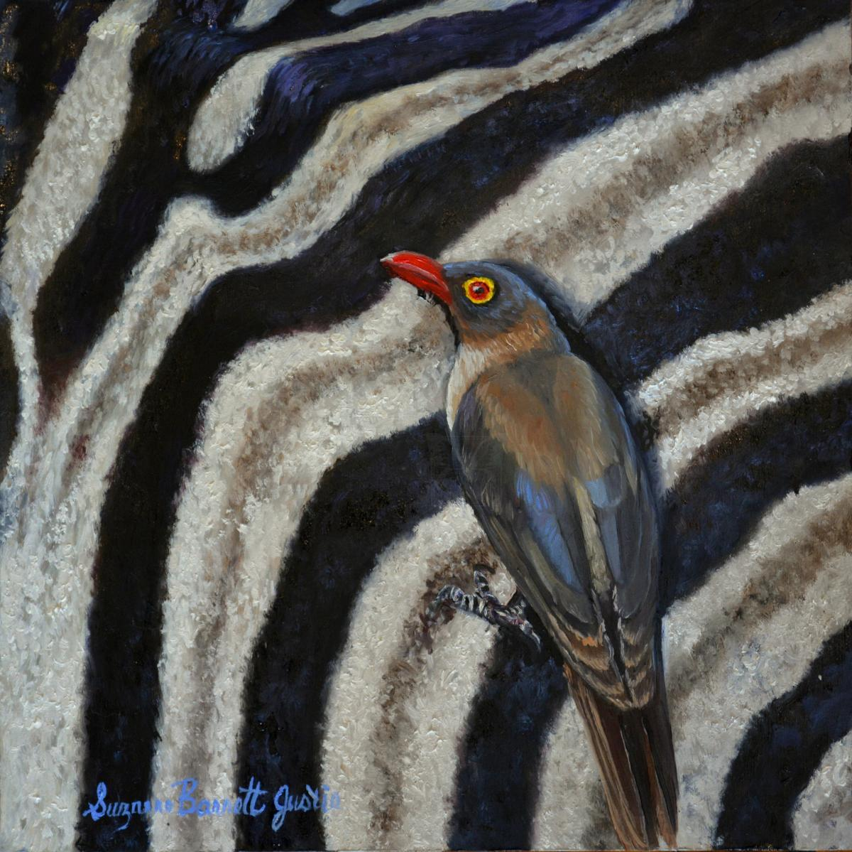 Add Artwork | Wallhanging by Suzanne Barrett Justis | Artists for Conservation