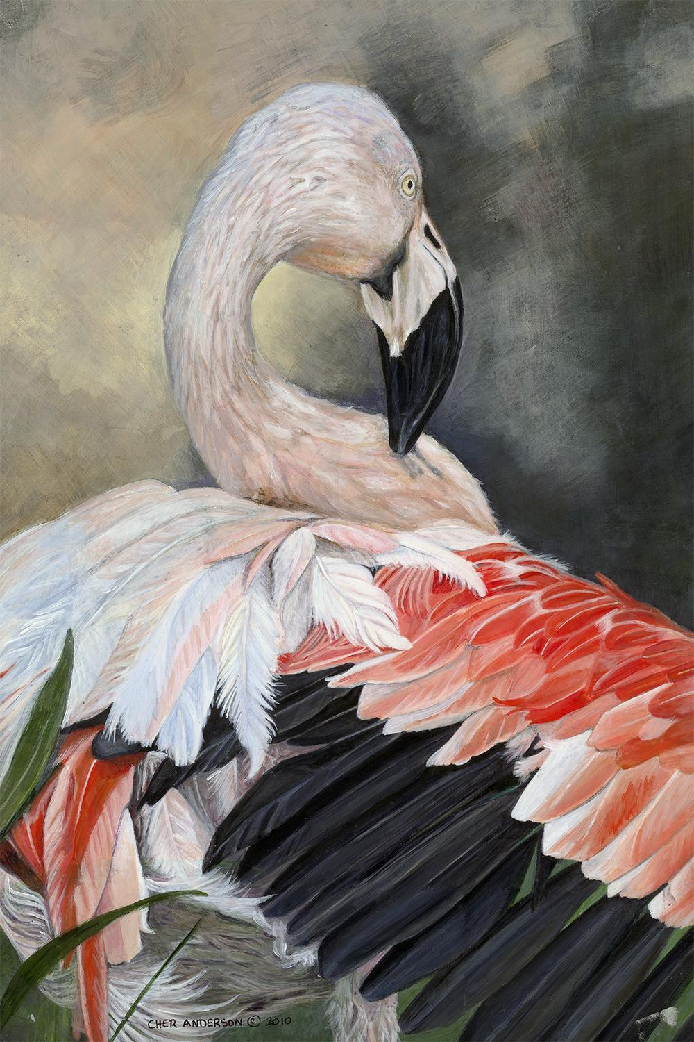   Wallhanging by Cher Anderson   Artists for Conservation