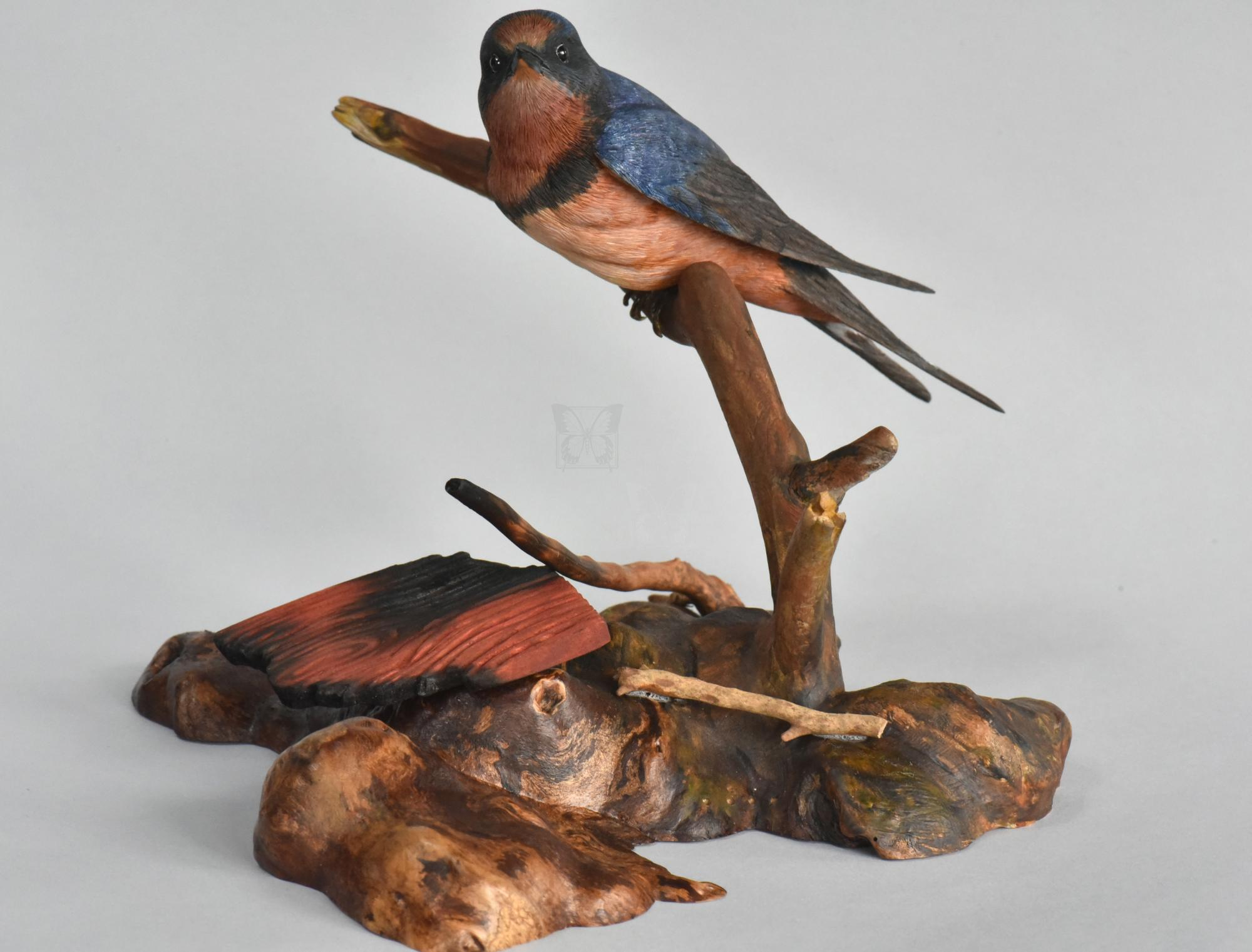 Homeless | Sculpture by Uta Strelive | Artists for Conservation 2021