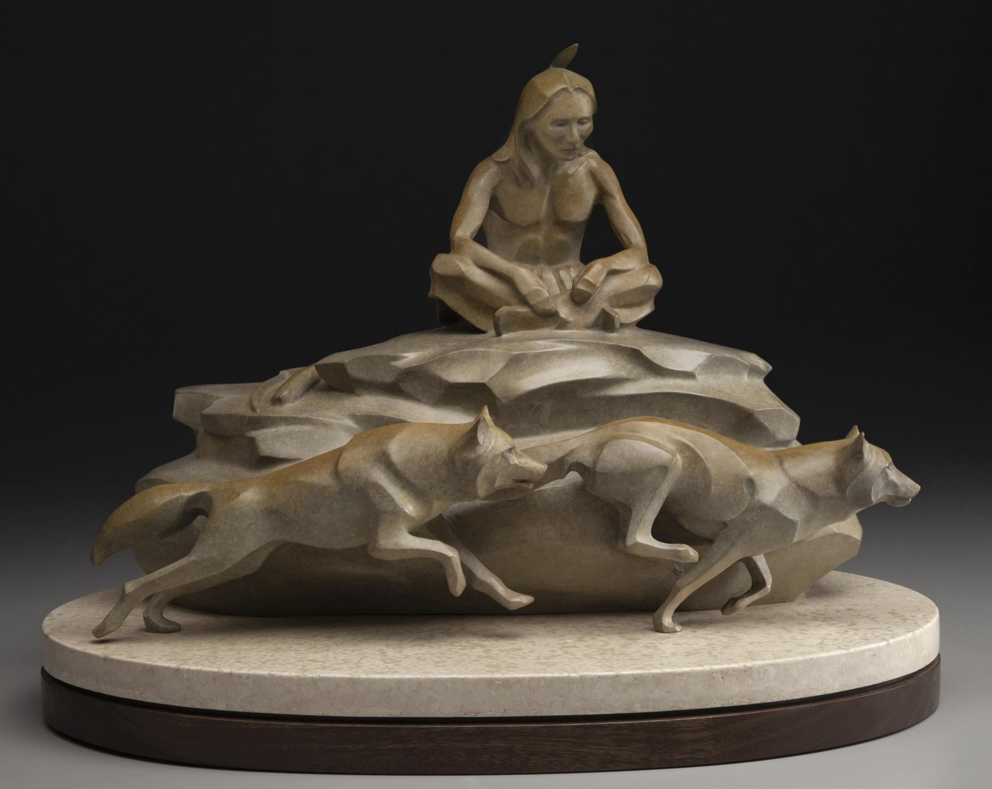 Spirit Brothers   Sculpture by Rosetta   Artists for Conservation 2021