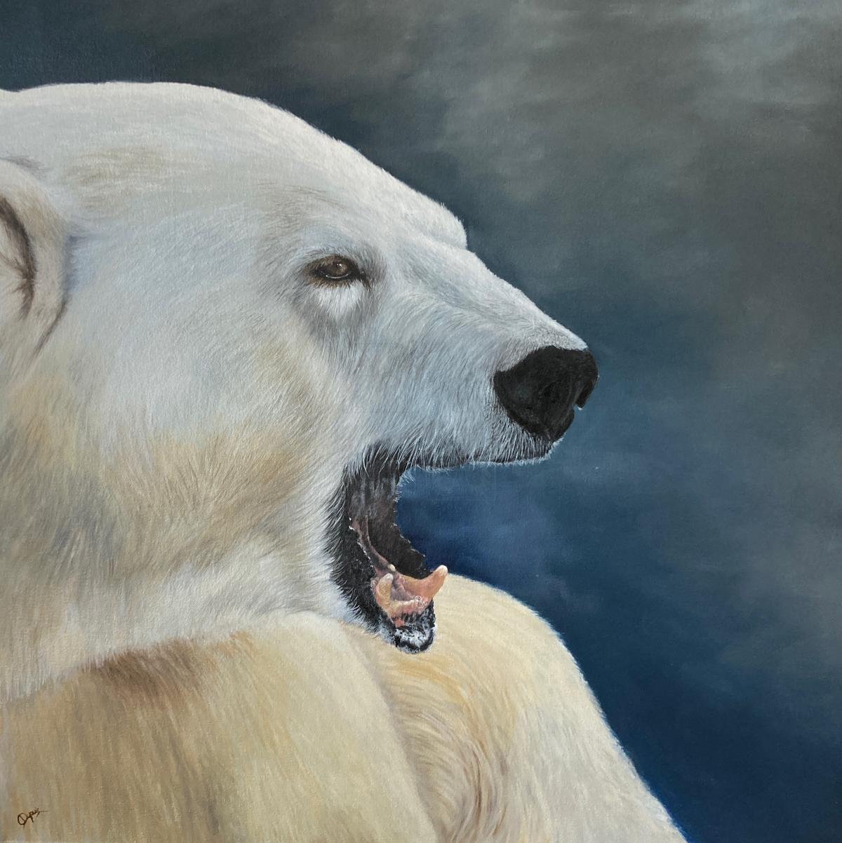 Edit Artwork | Wallhanging by Chantal Dupuis | Artists for Conservation